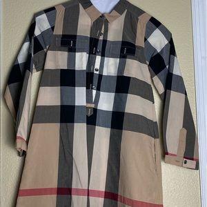 Burberry classic print Tunic (100% Authentic)